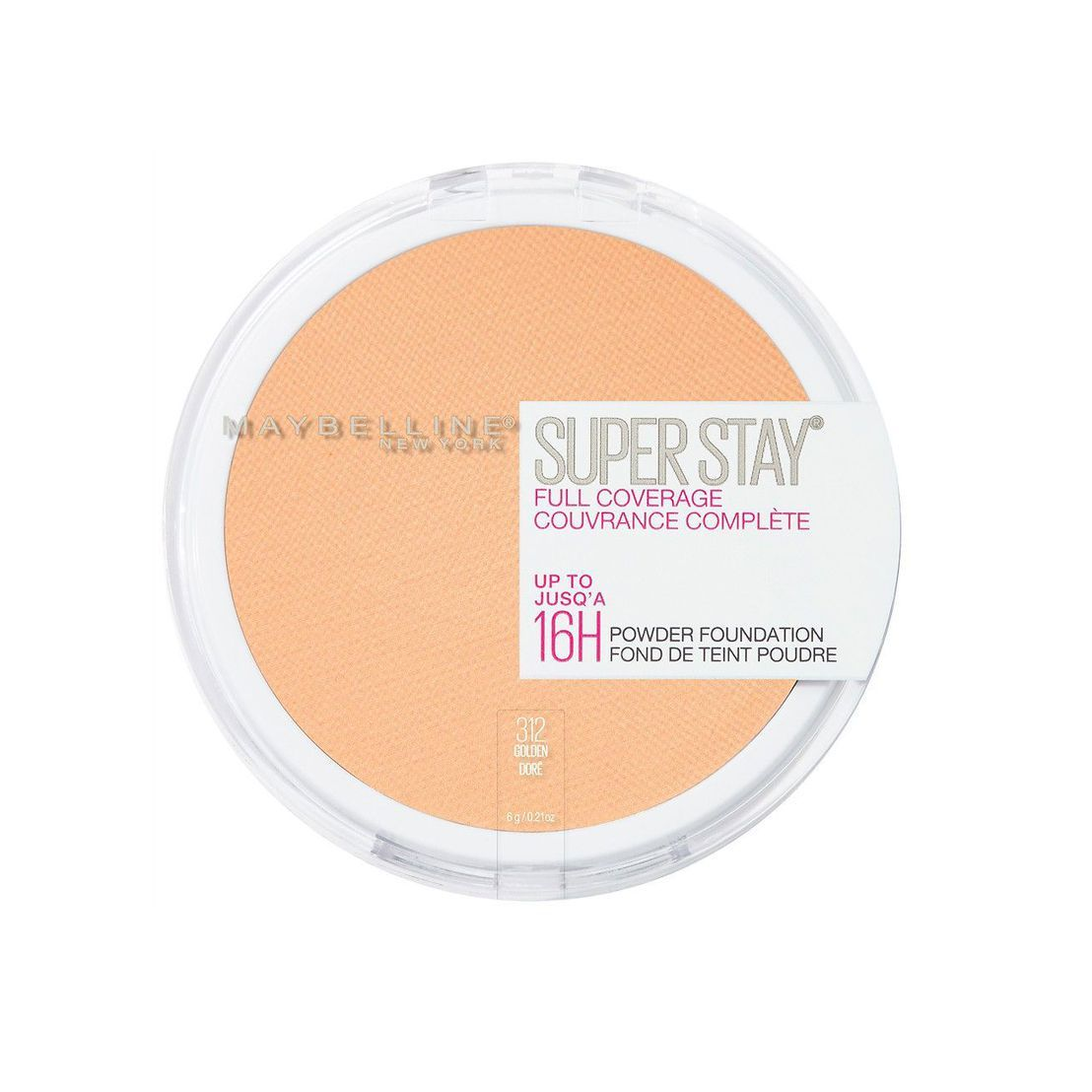 The Hands-Down Best SuperStay Full Coverage Powder Foundation Maybelline ulta.com $11.99 SHOP NOW I kid you not, I have a lifetime supply of this powder foundation because it is that good. It's full coverage, but doesn't feel like anything is on your skin.