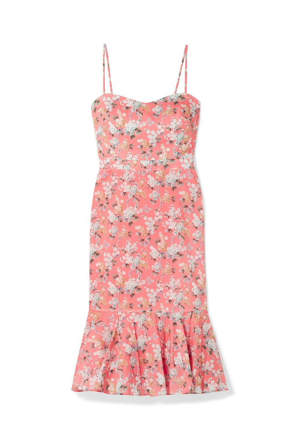 Best for Backyard Weddings Tana Floral Print Dress J.Crew net-a-porter.com $200.00 $100.00 (50% off) SHOP IT Bless the friends who throw backyard weddings, so we don't have to overthink our outfits. Grab your favorite floral dress (perhaps it's this one from J.Crew?) and throw on some sandals for the easiest look you'll put together this wedding season.