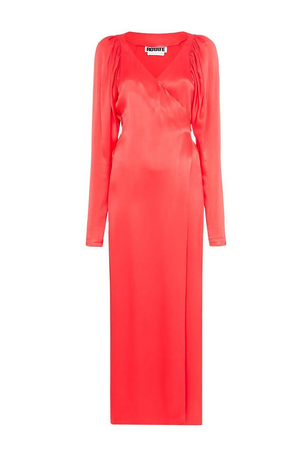 Most Conservative V-Neck Tie Waist Wrap Dress Rotate farfetch.com $138.91 SHOP IT Celebrate being seated at a table with your boyfriend's grandmother in a dress that's demure but not dowdy. This wrap dress is bright, loud, and silky.