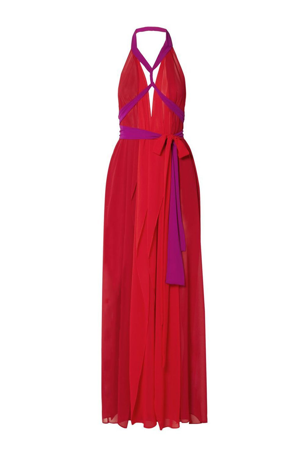 Best for Wearing Multiple Ways Cutout Halterneck Maxi Dress Marika Vera net-a-porter.com $249.00 $149.40 (40% off) SHOP IT This red-hot gown can be styled and re-style to your heart's desire, thanks to the customizable halter neck. It'll feel like a new dress every time you wear it!