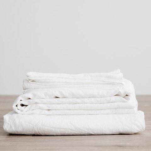Cultiver Linen Sheet Set