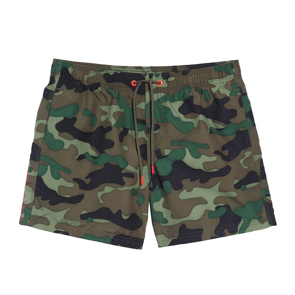 f3549ec10a Sundek Camo Stripe Volley Swim Trunks