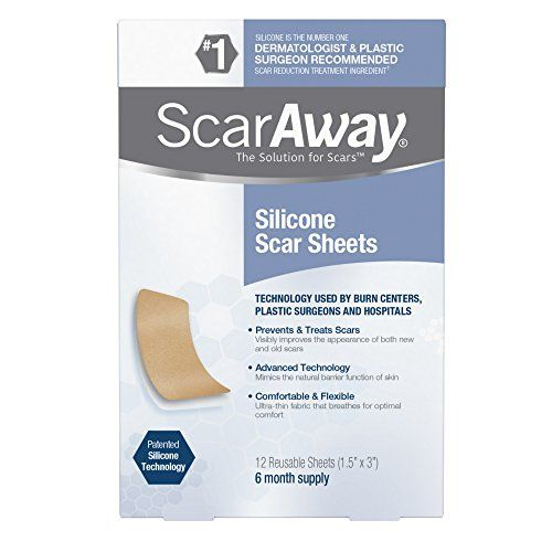 """Best for Stubborn Marks ScarAway Professional Grade Silicone Scar Treatment Sheets ScarAway amazon.com $34.99 $24.72 (29% off) SHOP NOW This drugstore gem is a favorite of New Jersey-based dermatologist Dr. Shari Sperling for its ability """"to hydrate the skin and promote collagen production."""""""