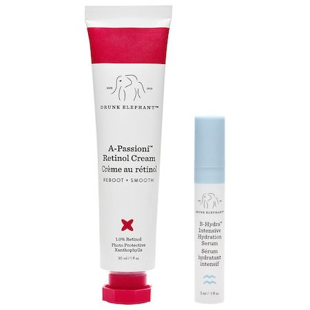 Best for Stubborn Marks A-Passioni Retinol Cream Drunk Elephant sephora.com $74.00 SHOP NOW Drunk Elephant combines passionfruit, apricot, marula and jojoba oils with 1.0 percent vegan retinol to not only impart moisture but improve texture and build a barrier for your skin to prevent further damage.