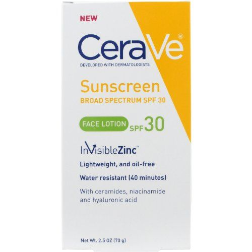 """Best for Prevention CeraVe Sun Protection, SPF 30 Sunscreen Face Lotion CeraVe amazon.com $12.75 SHOP NOW Too much sun exposure can darken the spots even more, so sunscreen will be your best friend. """"Scarring and post inflammatory hyperpigmentation can darken with sun exposure and linger on the skin longer than needed,"""" Dr. Idriss adds."""