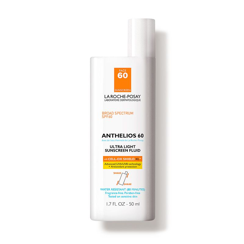 Best for Prevention La Roche Posay Anthelios 60 Ultra Light Sunscreen Fluid La Roche Posay dermstore.com $28.51 SHOP NOW La Roche Posay Anthelios sunscreen can double as a sun protector and makeup primer. The light formula absorbs into the skin with ease and leaves a matte finish so your skin is protected and your makeup can last all day.