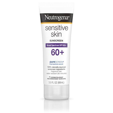 Best for Prevention Neutrogena Sensitive Skin Sunscreen Lotion with SPF 60 Neutrogena walmart.com $32.60 SHOP NOW What's not to love about this Neutrogena classic? It has SPF 60 (more protection for your skin), leaves no residue, works wonders for sensitive skin, and costs as much as a fresh-pressed green juice.