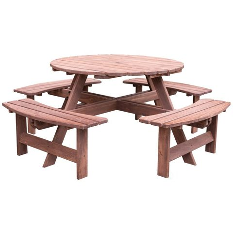 Phenomenal 9 Best Wooden Picnic Tables For Summer 2019 Outdoor Wooden Spiritservingveterans Wood Chair Design Ideas Spiritservingveteransorg