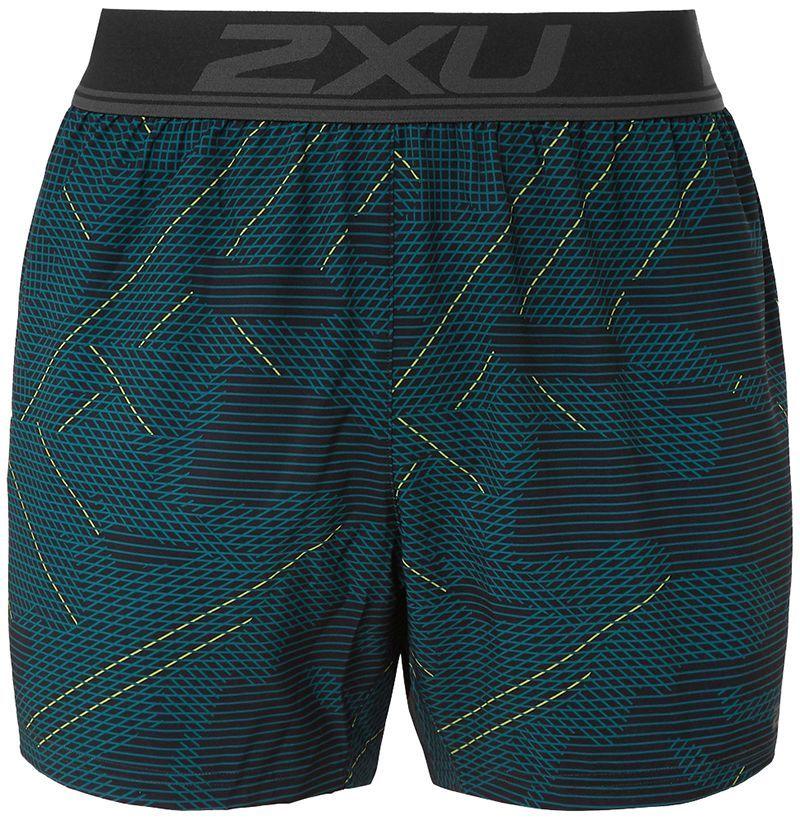 2XU GHST Stretch Free Printed Shorts