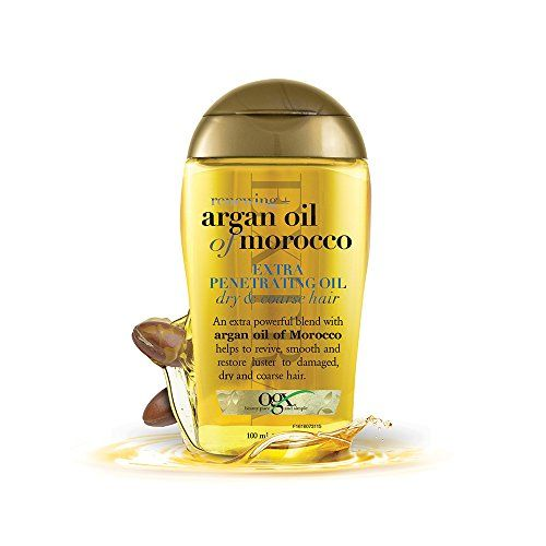 Favorite Oil Argan Oil of Morocco Extra Strength Penetrating Oil for Dry/Coarse Hair OGX amazon.com $5.74 SHOP IT