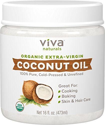 Hair Hydrator Organic Extra Virgin Coconut Oil Viva Naturals amazon.com $10.47 SHOP IT