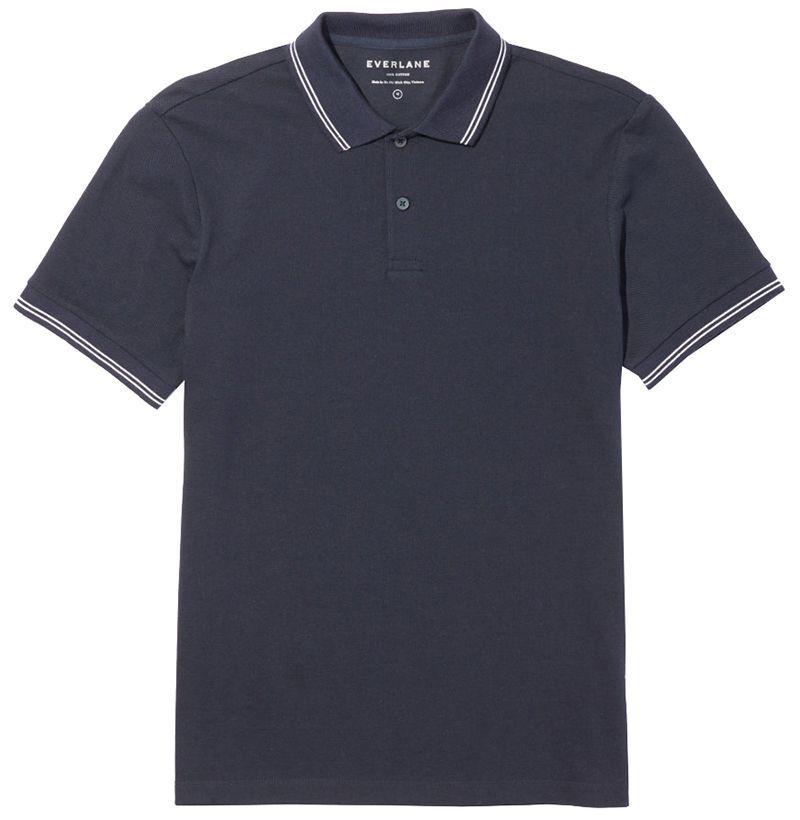 Everlane The Pique Polo Shirt