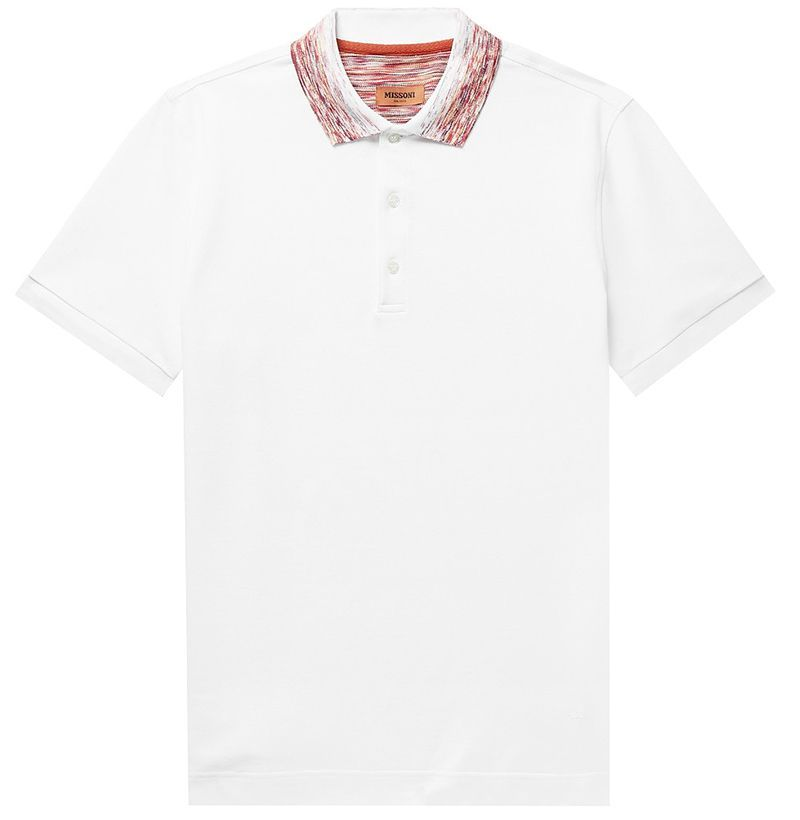 Missoni Space-Dyed Polo Shirt