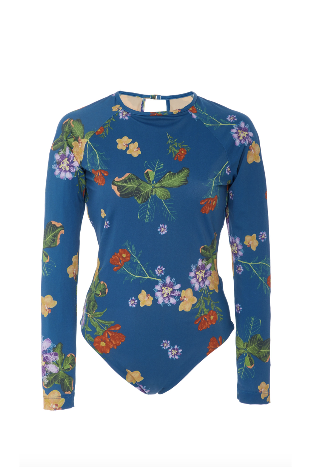 Best Long-Sleeve One-Piece Mira Printed One-Piece Swimsuit Verandah modaoperandi.com $285.00 SHOP IT One thing I love about long-sleeve swimsuits: you can go easy on the sunblock. This is perfect for those who are looking for fuller coverage, but still want something fresh and eye-catching.