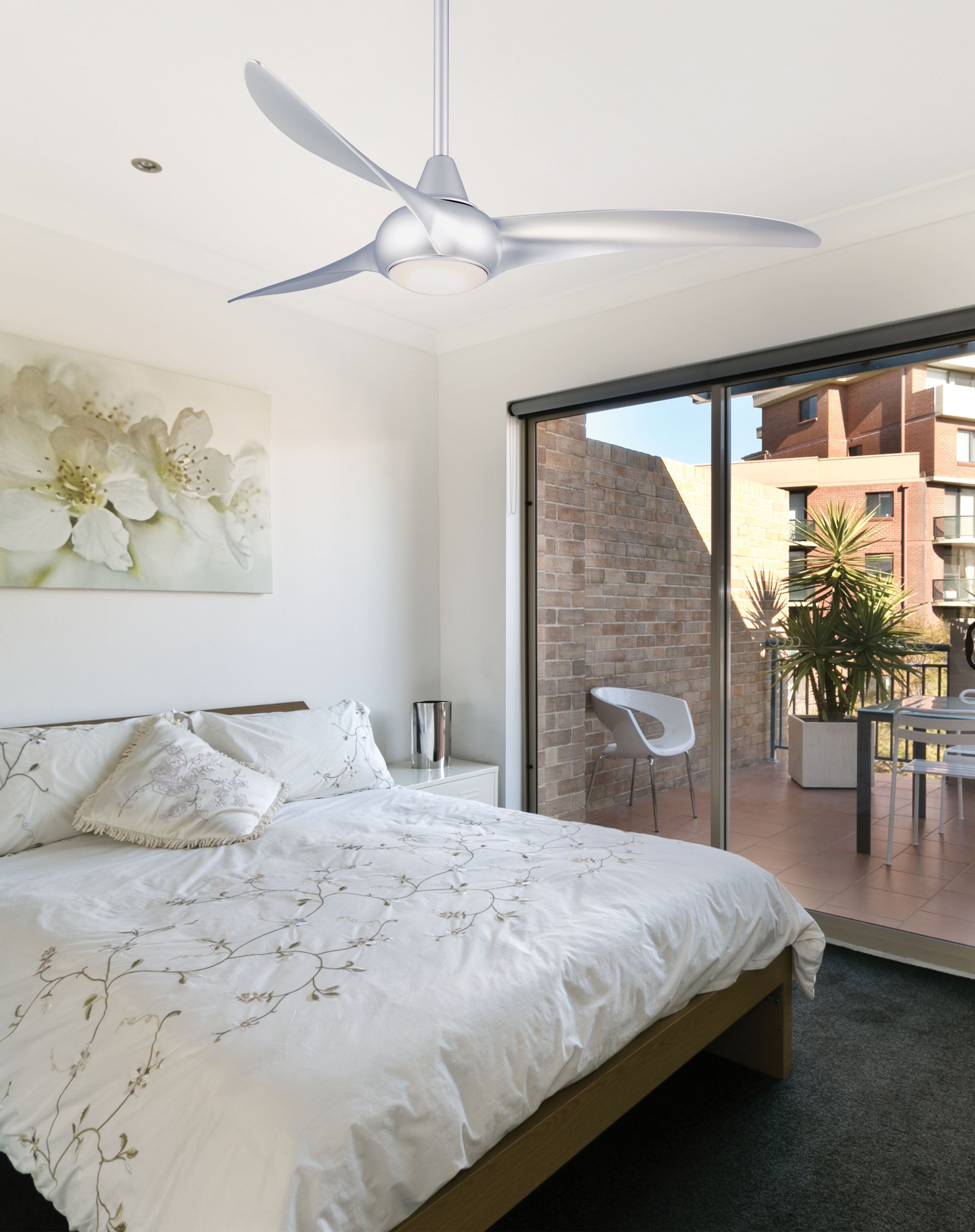 Outstanding Light Wave Led Ceiling Fan Beutiful Home Inspiration Xortanetmahrainfo
