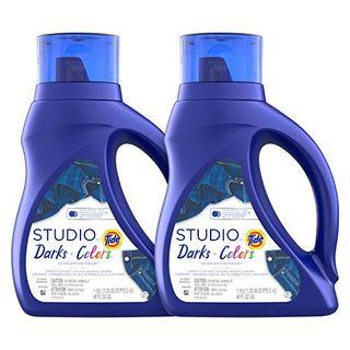 Tide Studio Liquid Laundry Detergent, Darks & Colors (2)