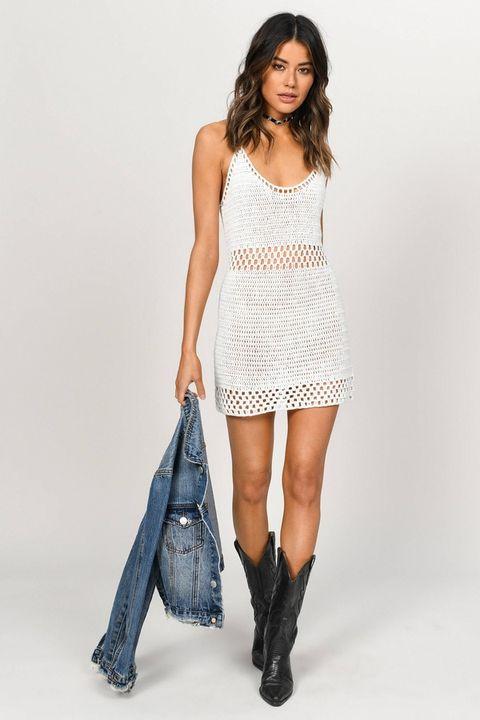 f136f559fa2 Casual White Summer Dresses - White Summer Beach Dress