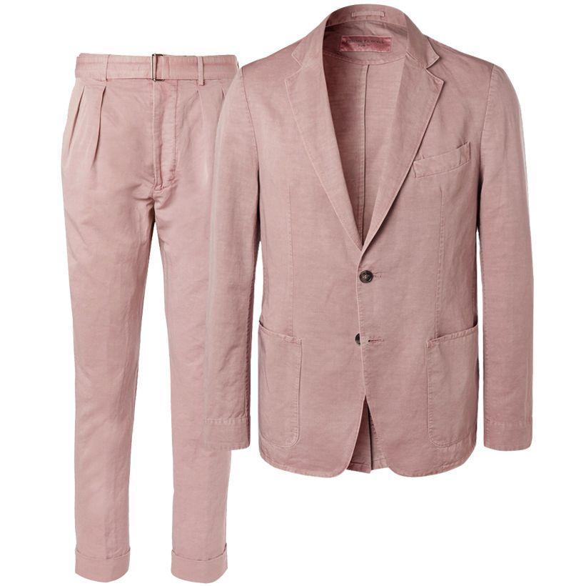 Officine Generale Unstructured Suit Jacket