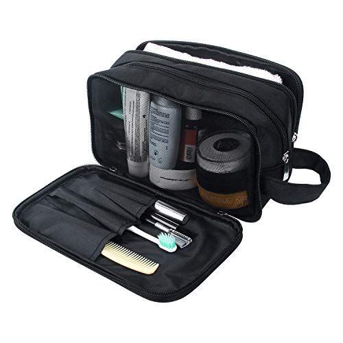 Mens Toiletry Bag, Waterproof Dopp Kit for Men Hanging Travel Shaving Wash Bags Shubb amazon.com $27.99 $22.99 (18% off) SHOP NOW He only uses about four items, but help him keep those knick-knacks organized for his next getaway.