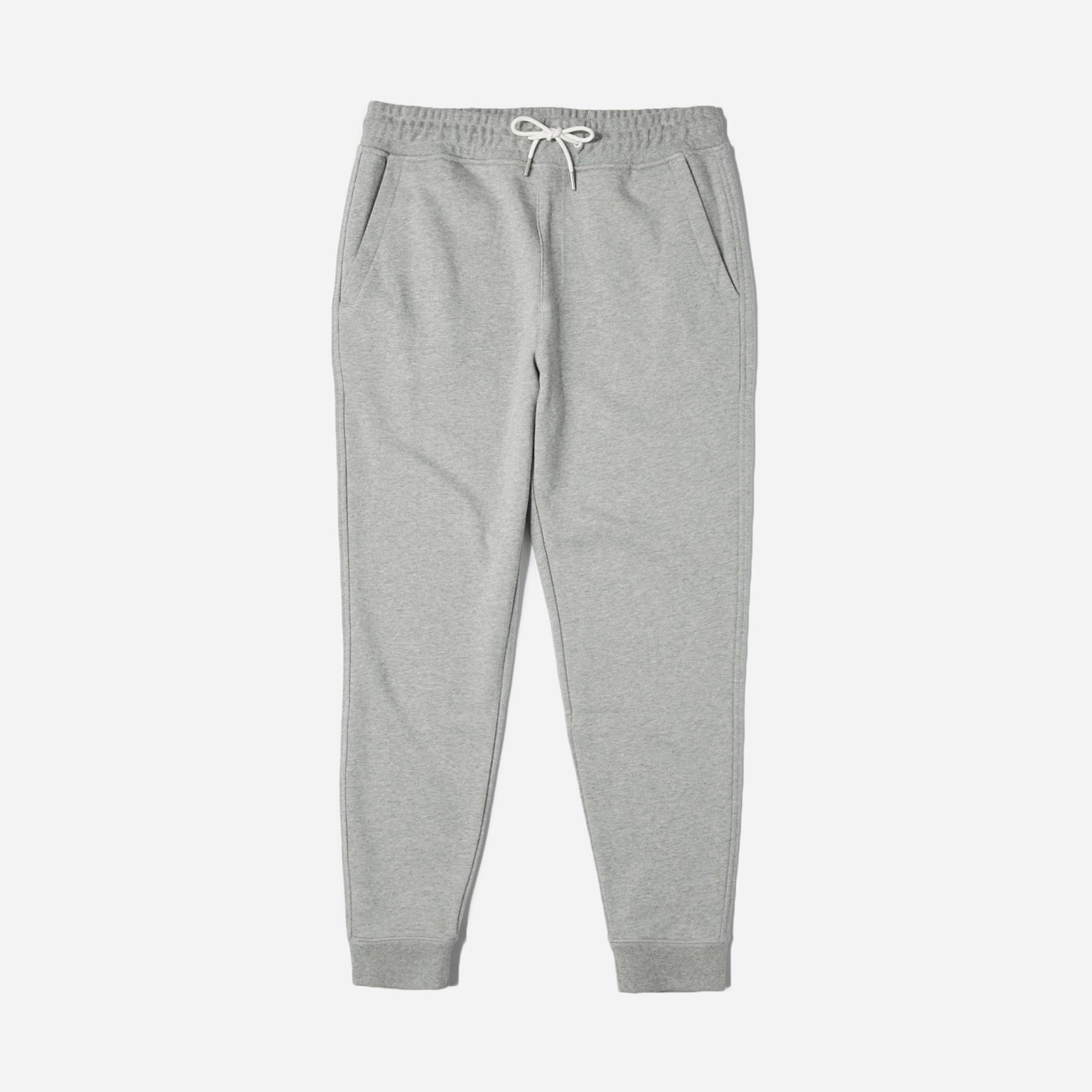The Classic French Terry Sweatpant Everlane everlane.com $55.00 SHOP NOW The paint splatter-stained, faded ones he keeps wearing outside of the house have GOT. TO.