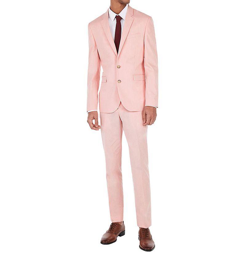 Express Coral Suit Jacket