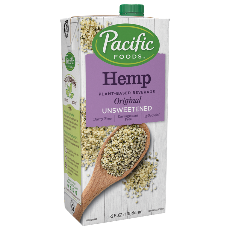 "Hemp Milk Pacific Foods $6.62 SHOP NOW Hemp is trending—people are adding hemp seeds to salads, using hemp lotions, and even adding hemp milk to smoothies and baked goods. ""Hemp milk has a nutty flavor and drinkable consistency,"" says White."