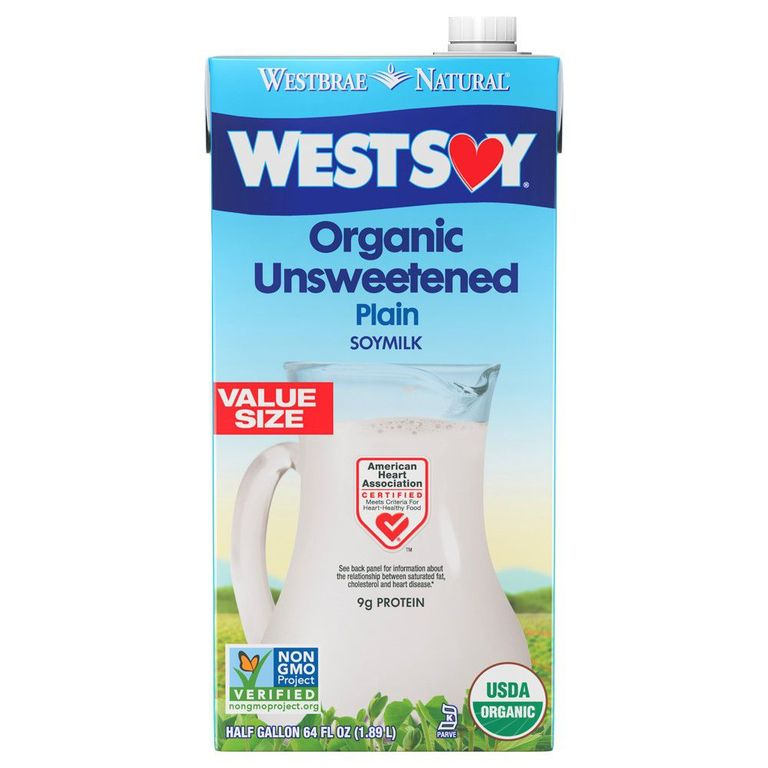 "Soy Milk West Soy SHOP NOW The ""original"" non-dairy milk, soy milk still a great option. ""It is highest in protein compared to other non-dairy varieties, plus contains a full panel of amino acids,"" says White."