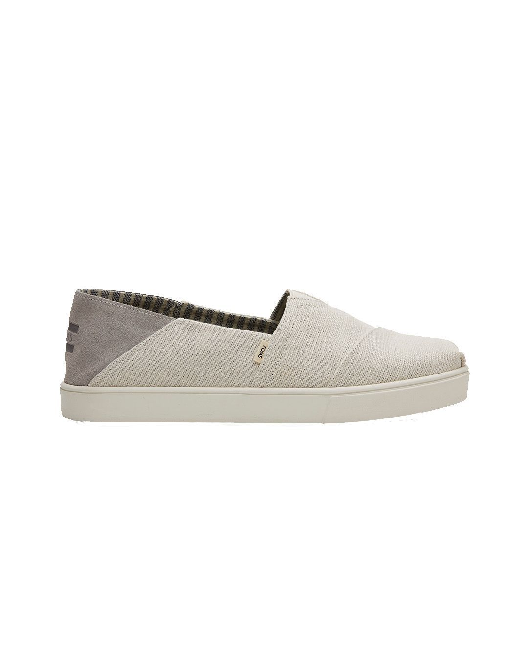 Toms Birch Heritage Canvas Shoes