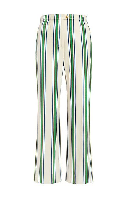 Striped Cotton Pant