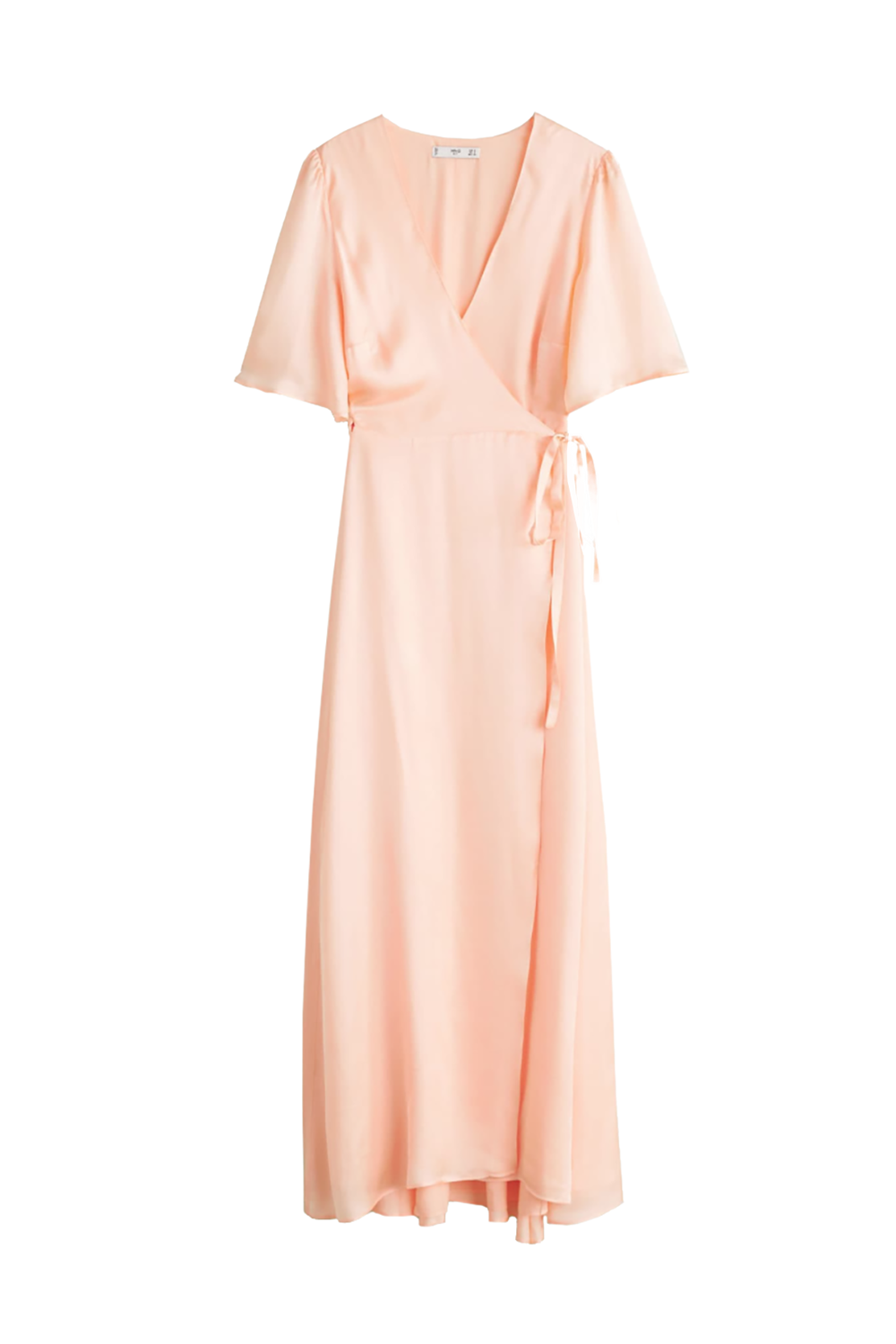 Best for Daytime Pastel Wrap Dress Mango $149.99 SHOP IT This satin wrap dress is like a cat—it has nine lives. It can be resurrected for any occasion, from weddings and bridal showers to your company's summer party.