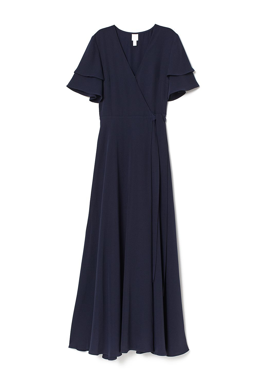 Best for Re-Wearing Wrap Dress H&M hm.com $59.99 SHOP IT Navy, the alternative flattering color to your go-to little black dress. Its classic hue and silhouette mean that it will work for the array of dress codes on your docket: garden, cocktail, black-tie optional—you name it!