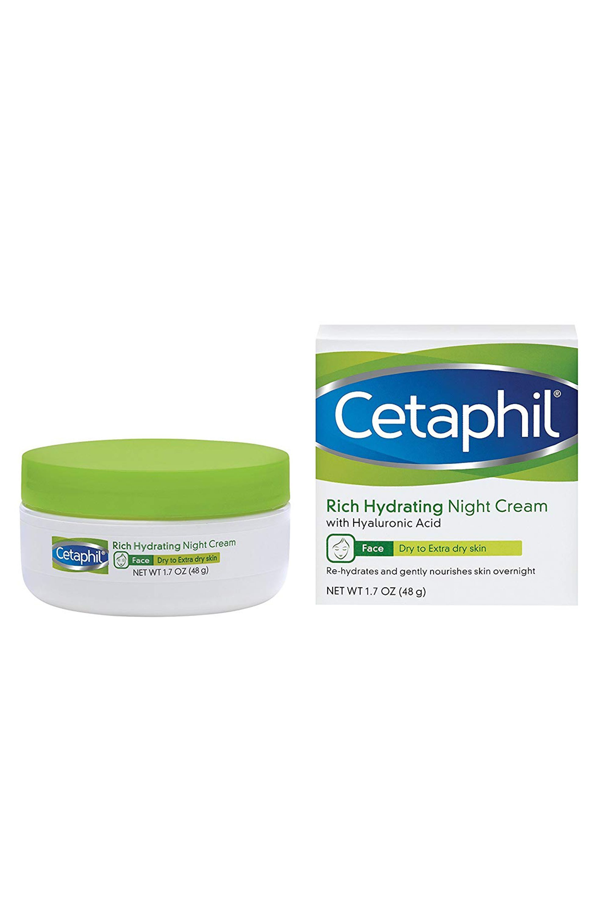 Night Creams To Treat Acne Cetaphil Rich Hydrating Night Cream with Hyaluronic Acid Cetaphil amazon.com $19.99 $10.99 (45% off) SHOP NOW