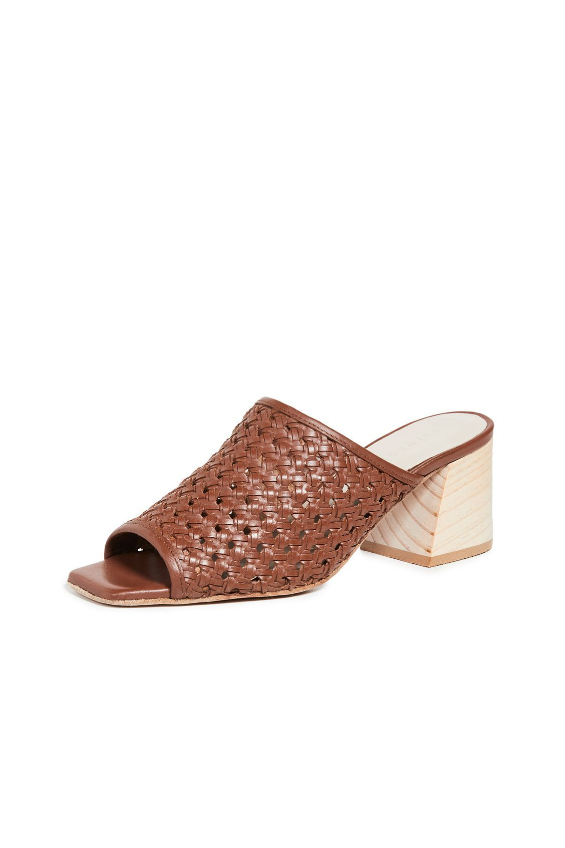 Pia Woven Block Heel Sandals Freda Salvador shopbop.com $395.00 SHOP NOW Quintessentially summer, this woven mule comes with a stacked wooden heel you can truly last in.
