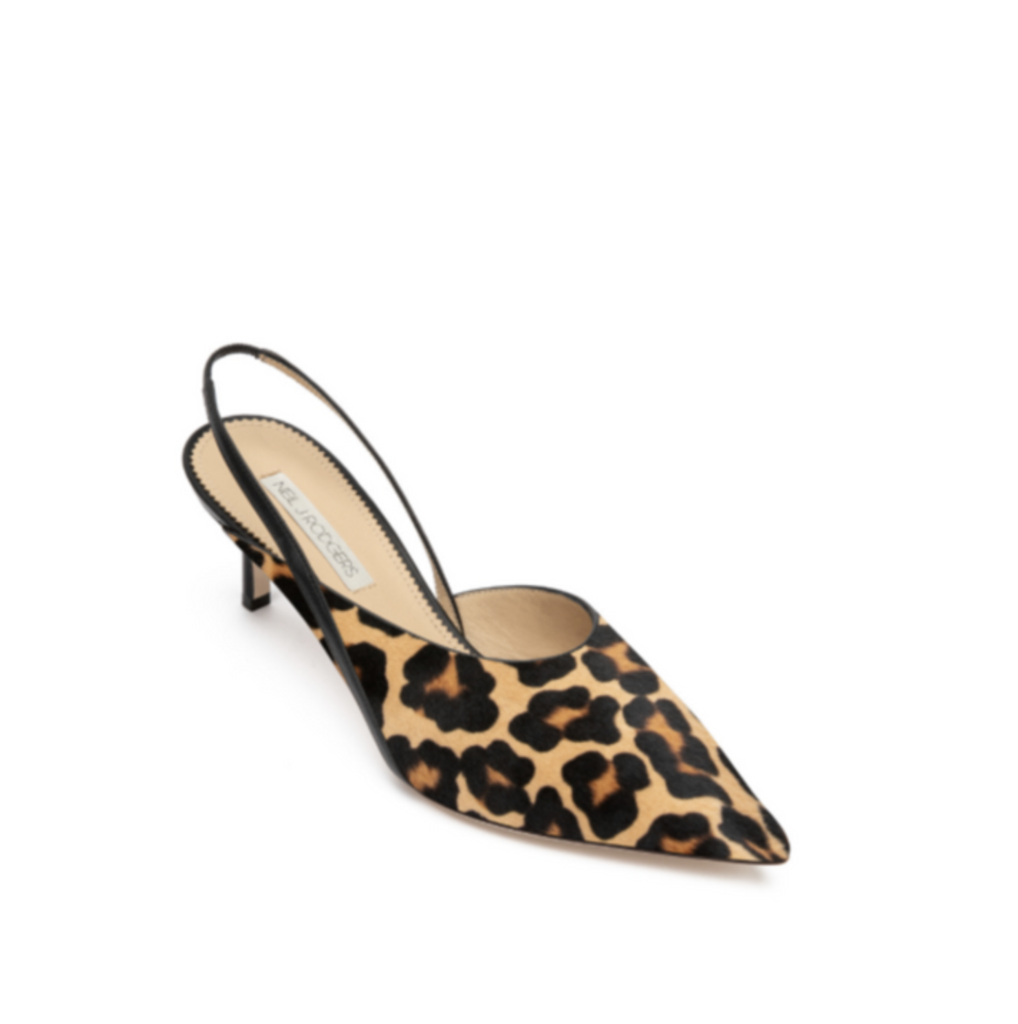 Hannah Mule Neil J Rodgers neiljrodgers.com $395.00 SHOP NOW Featuring a high-cut vamp and a manageable 2.1-inch heel this show will instantly become your go-to party pick.