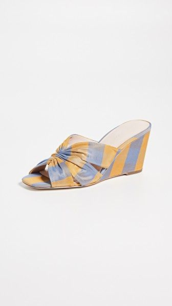 Sonya Cinched Wedge Sandals Loeffler Randall shopbop.com $295.00 SHOP NOW Wedges are the ultimate in comfort and this playful pair feels decidedly fresh for warm-weather occasions.