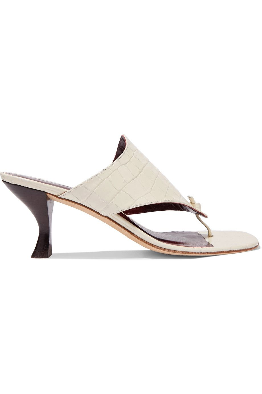 Keith croc-effect leather mules STAUD net-a-porter.com $295.00 SHOP NOW Behold: The elevated version of your most comfortable flip-flops.