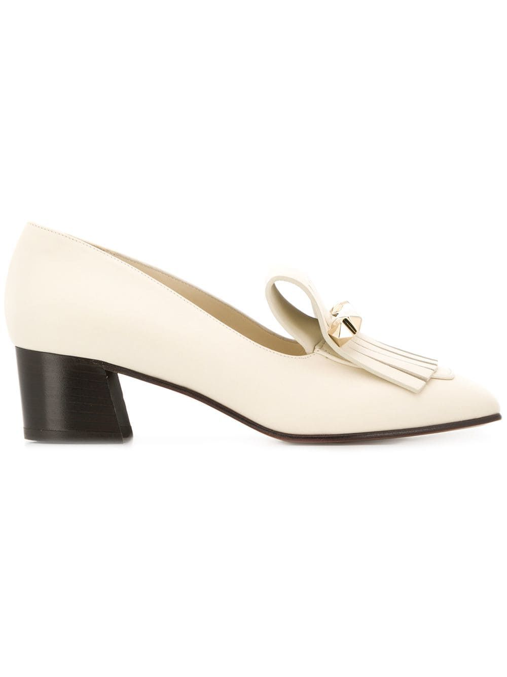 Valentino Garavani Uptown Loafers Valentino farfetch.com $975.00 SHOP NOW Prefer a closed-toe shoe during the summer? Go with this pair of loafers.