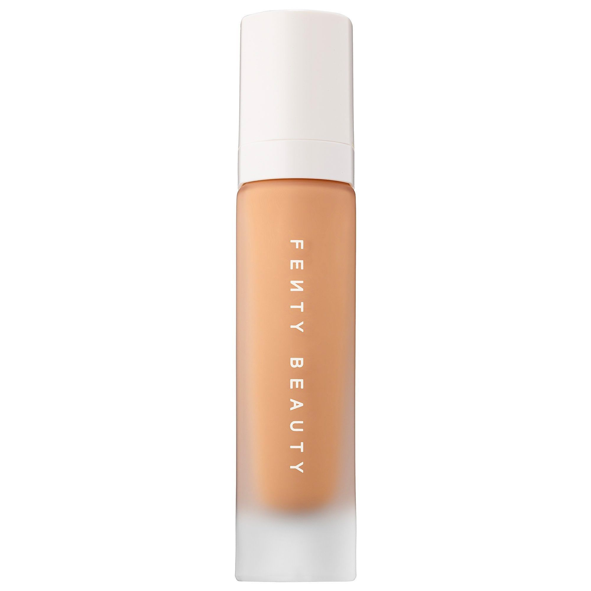 For Ultra Matte Skin Pro Filt'r Soft Matte Longwear Foundation Fenty Beauty $35.00 SHOP NOW If it's good enough for Rih, it's good enough for me. This super matte formula not only has a wide range of shades, but is full coverage and stays put all day without developing a film of shine.