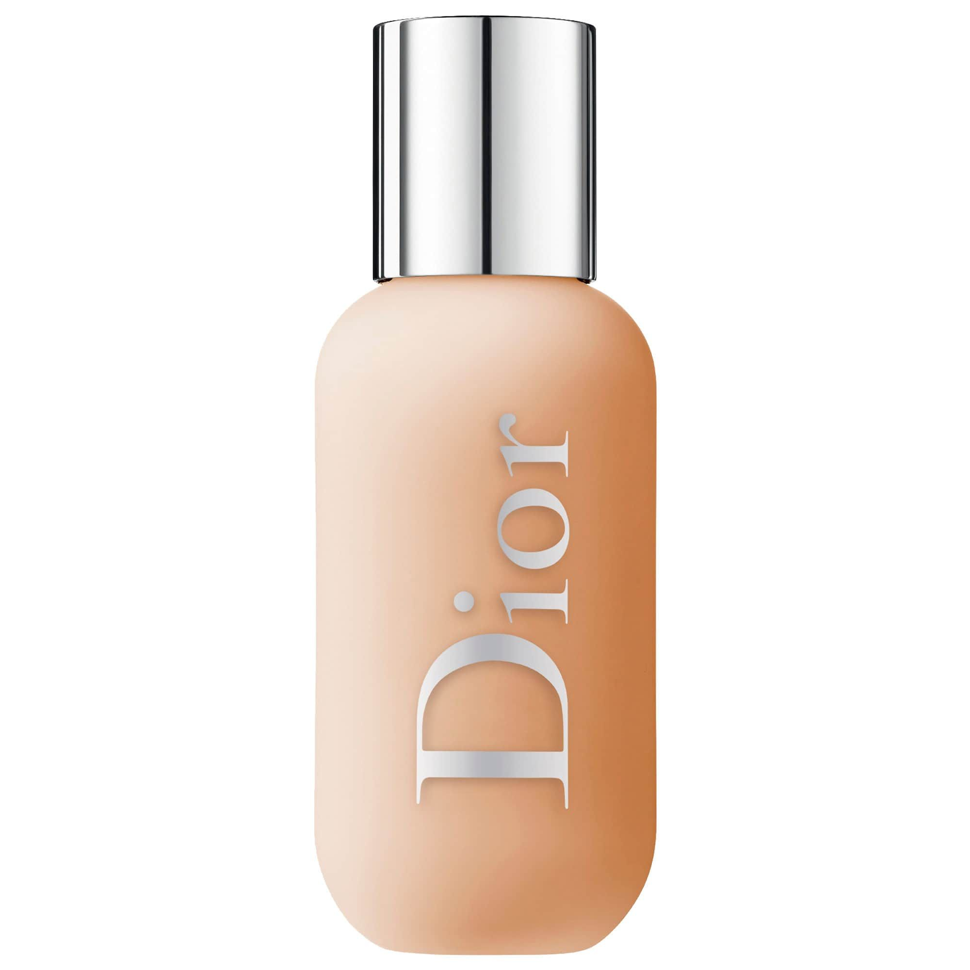 For Everyday Use Backstage Face & Body Foundation Dior $40.00 SHOP NOW This has become my all-time favorite foundation for day-to-day wear because it's buildable. It's not so matte that none of your natural dewiness will come through, but it definitely keeps the grease-prone T-zone in check.