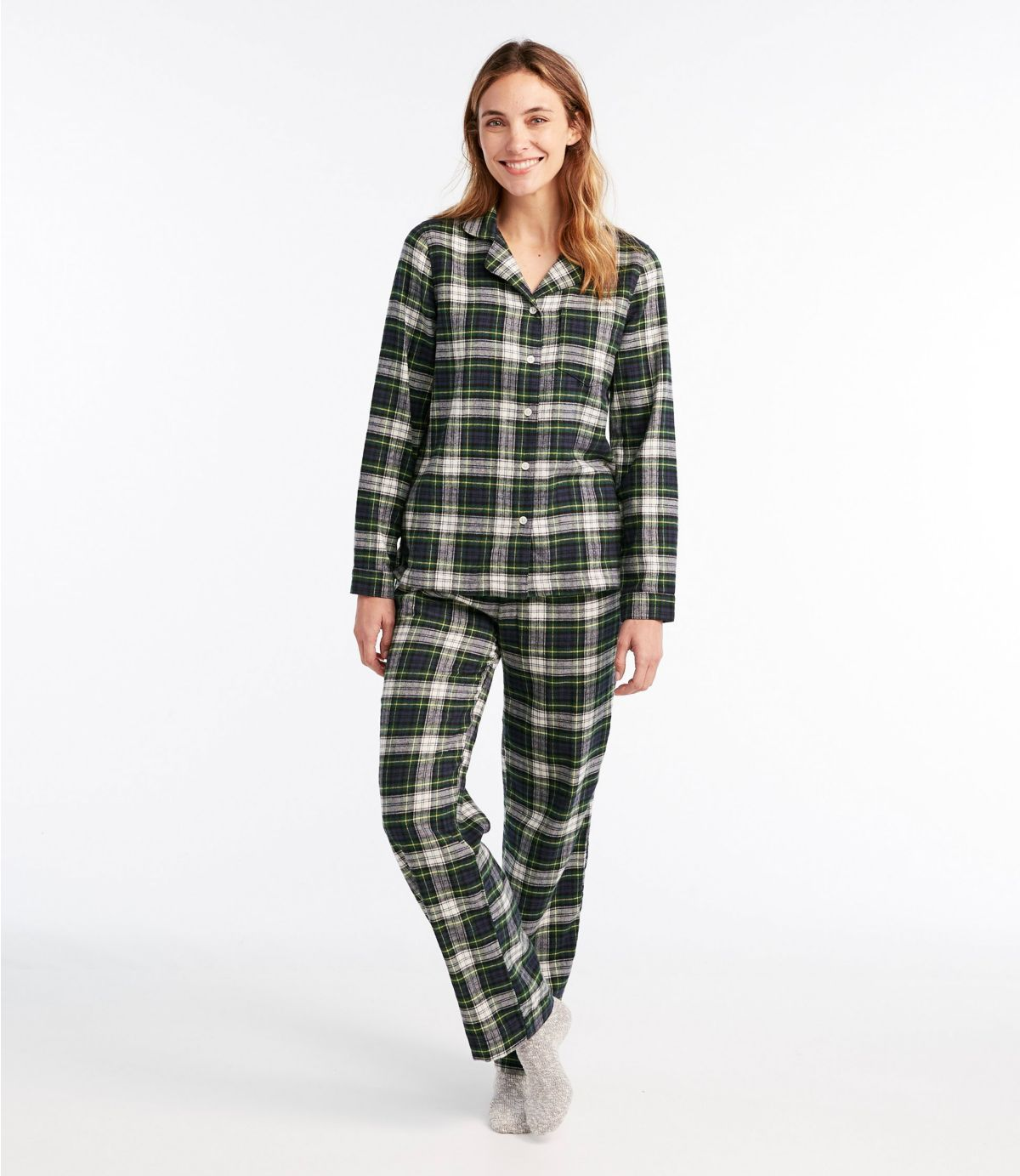 Womens Ladies  Pyjamas  Pajama Pj Nightwear Cosy Fleece Check
