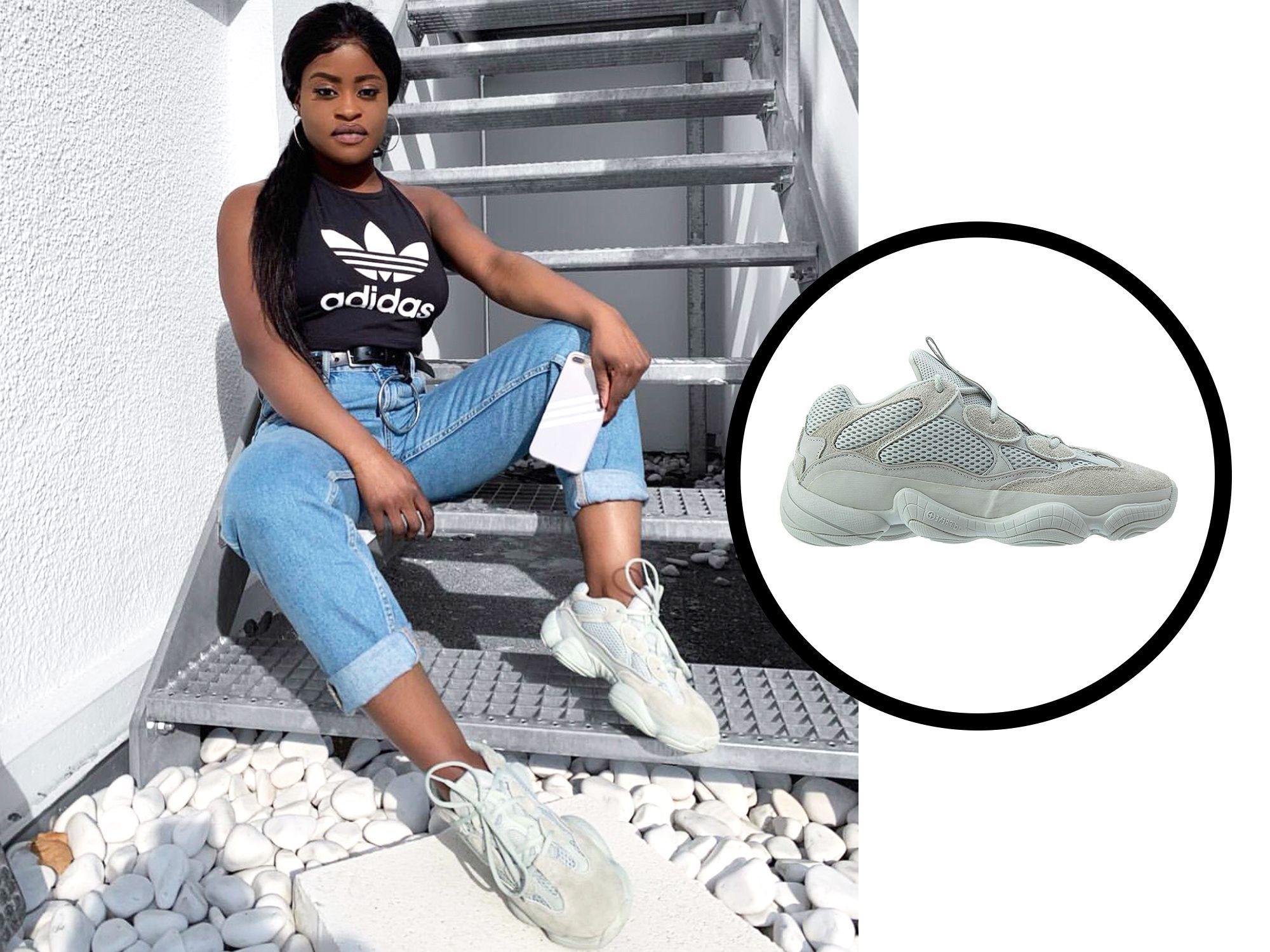 Adidas x Yeezy 500 Salt Sneakers
