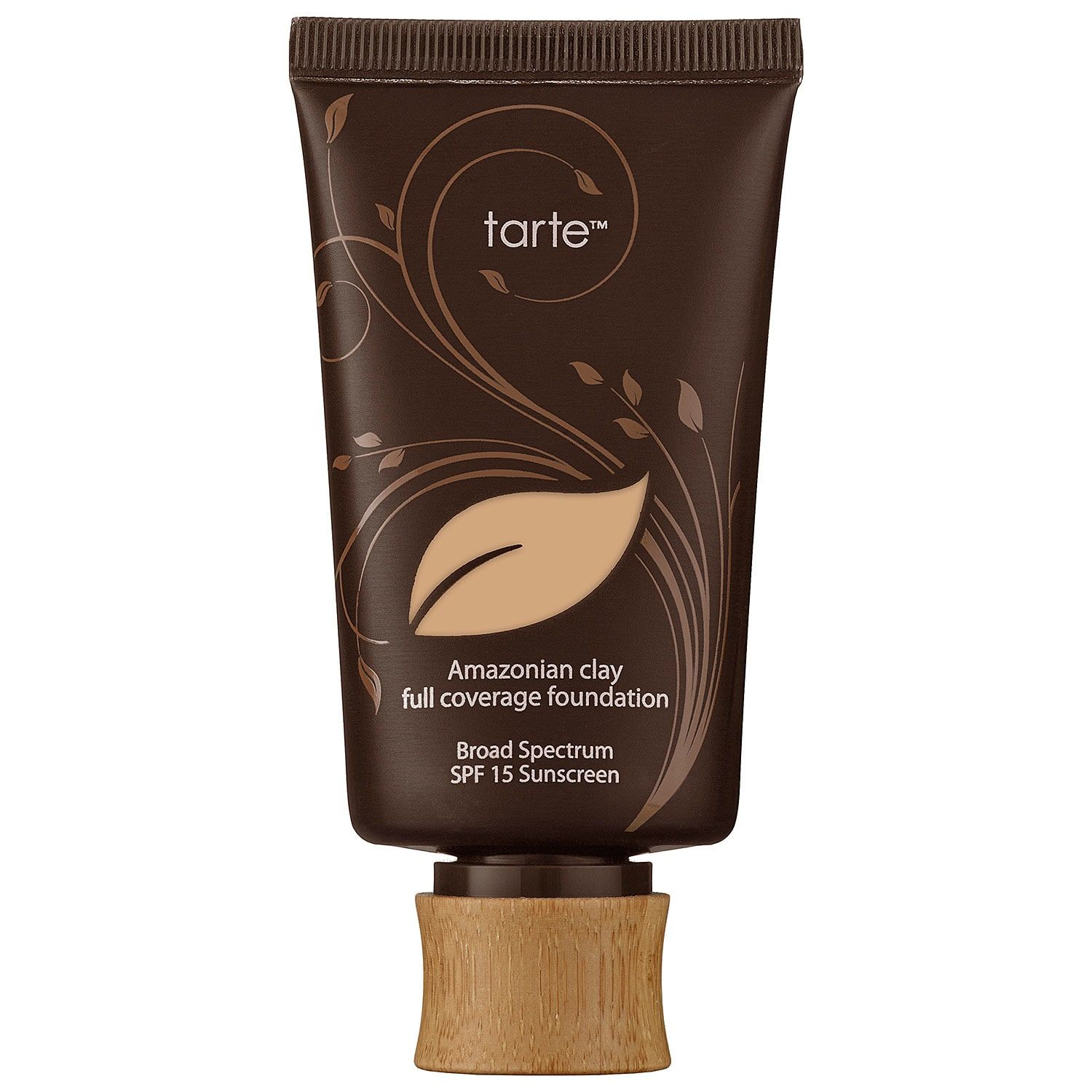 For Vegans Amazonian Clay Full Coverage Foundation SPF 15 Tarte $39.00 SHOP NOW Amazonian clay is what your matte makeup dreams are made of. The formula provides full coverage without the heaviness and allows your skin to breathe.