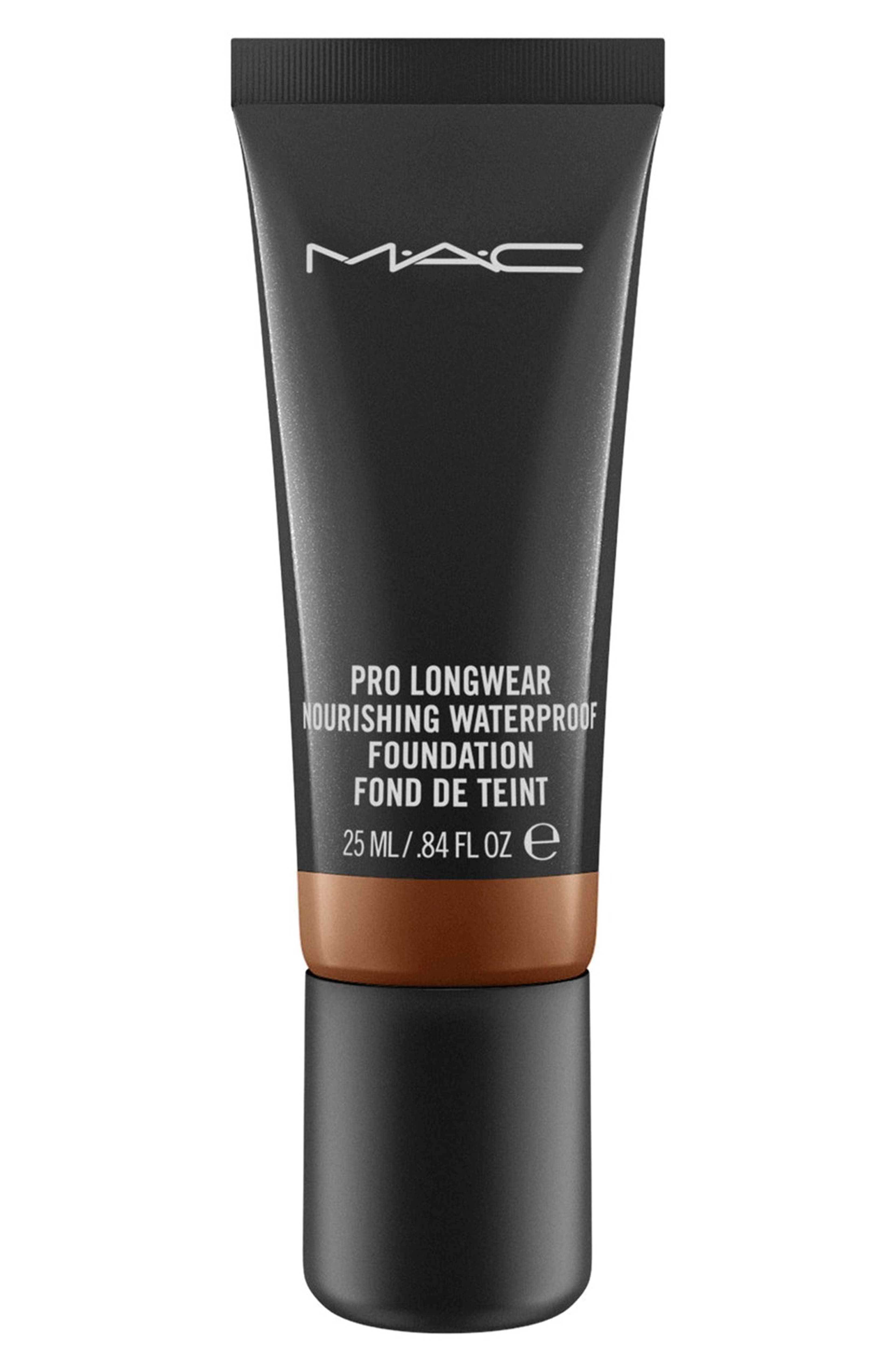 For Longwear Pro Longwear Nourishing Waterproof Foundation MAC $36.00 SHOP NOW Even on the longest of days, this full coverage foundation leaves skin matte with no touch-ups required. The tube may seem tiny, but trust–a little goes a long way.