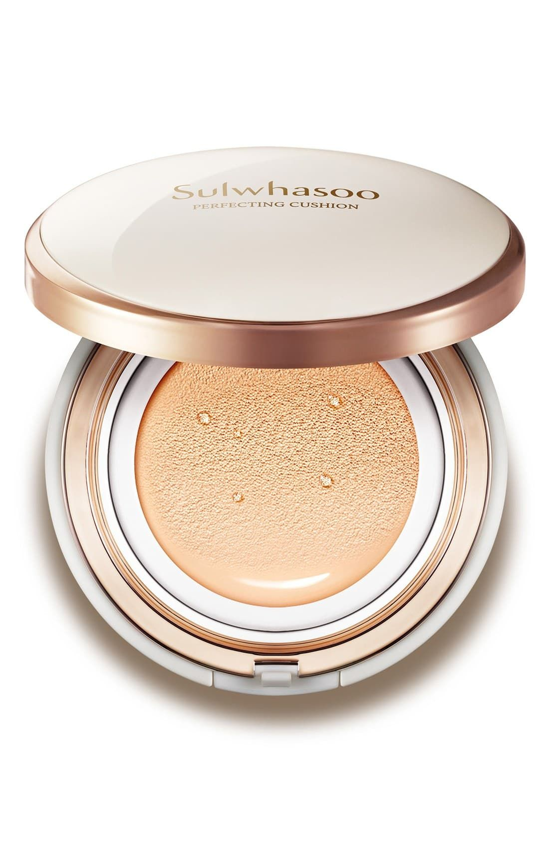 For a K-Beauty Fan Perfecting Cushion Foundation Sulwashoo $60.00 SHOP NOW Sometimes you pump out a tad too much liquid foundation and have no choice but to cake it on—but not with this product. The cushion foundation, popular in beauty mecca South Korea, ensures you'll get just the right amount of product with a sponge-like dispenser that gives you powdery, light, and long-lasting coverage.