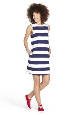a2b9356f0b Women s Striped Sleeveless Crewneck Knit Dress. vineyard vines for Target  target.com