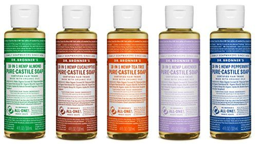 Dr  Bronner's Castile Soap Sampler Set