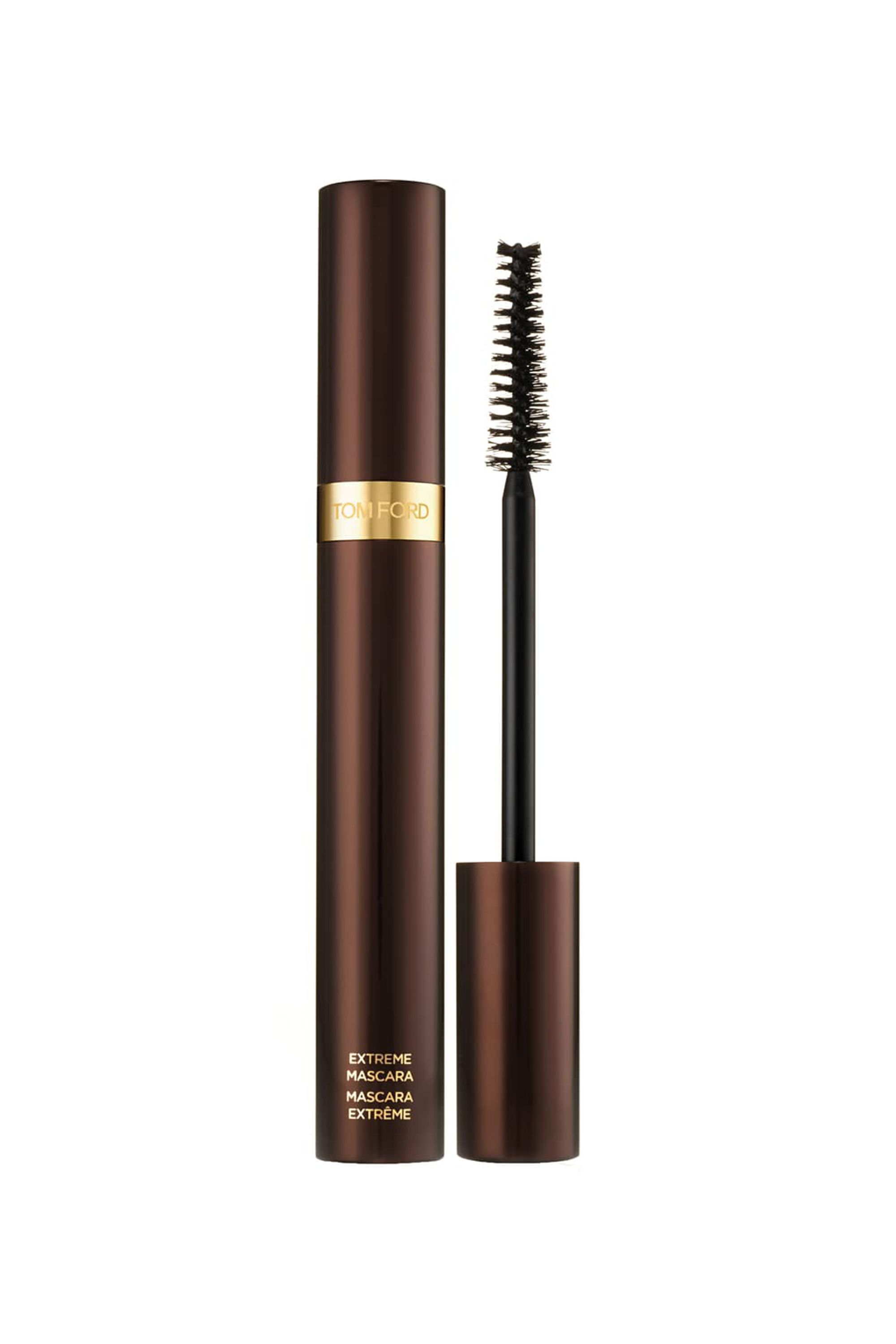 """Extreme Mascara Tom Ford tomford.com $46.00 SHOP NOW """"This is the best mascara I've ever used. It turns me into a mix of Diana Ross and Twiggy after a few strokes. The brush separates and lengthens every single lash."""" — Justine Carreron, Market Editor"""