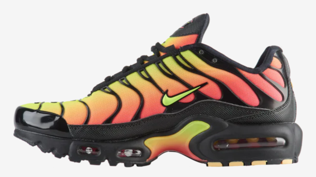 nike tn air max plus black multi
