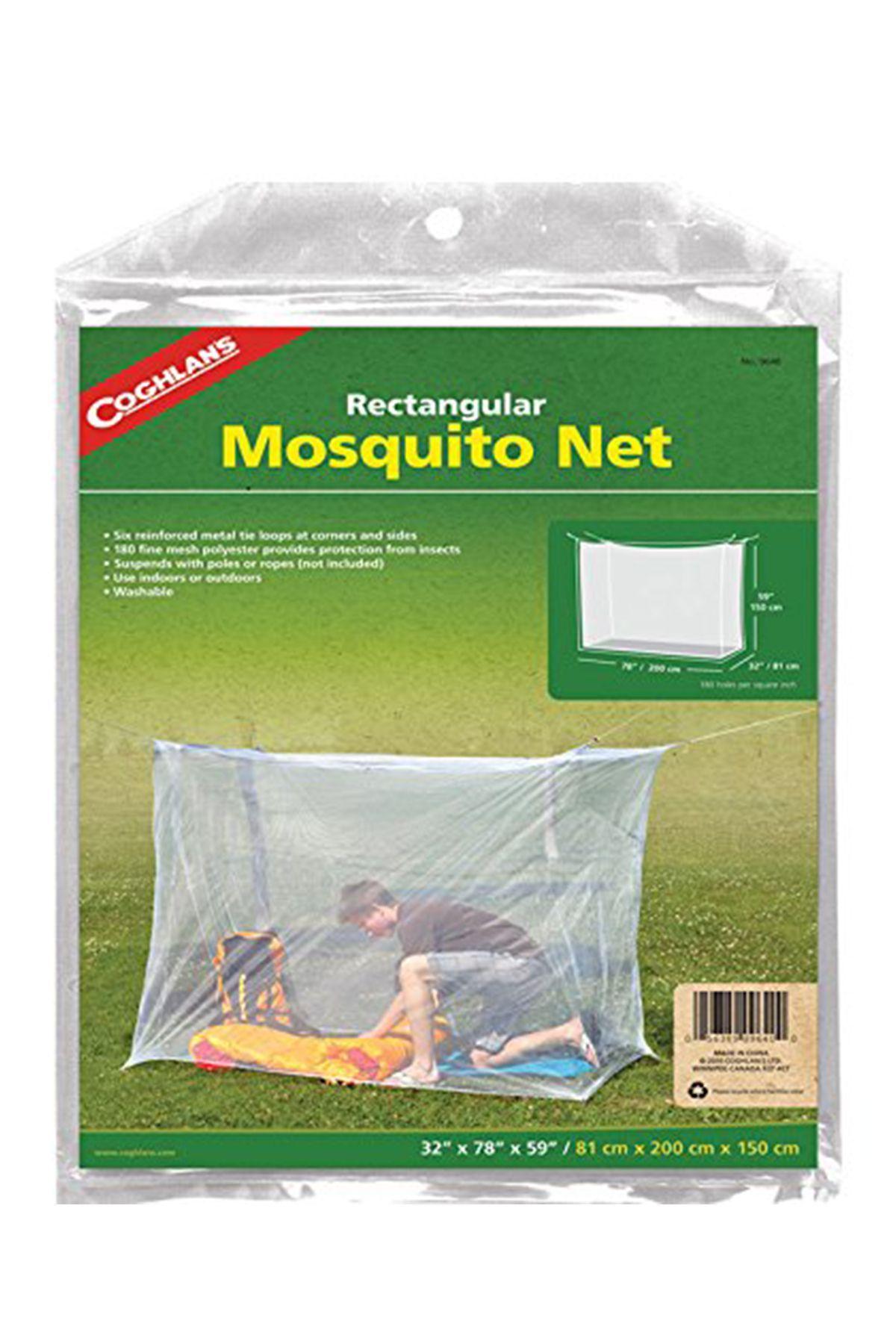 Sleep under a mosquito net