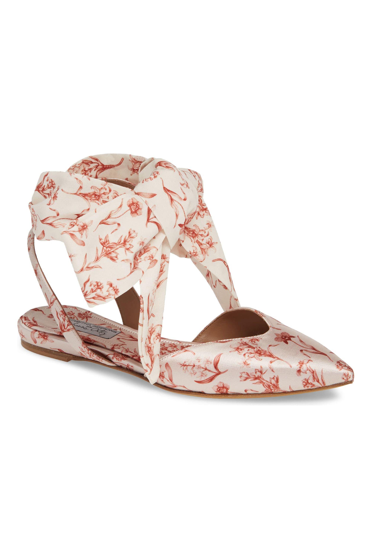 Vera Floral Ankle Wrap Flats Tabitha Simmons, $372.49 nordstrom.com SHOP NOW